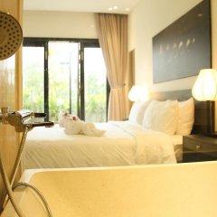 Отель Thanh Binh Riverside Hoi An 4* Номер Делюкс с различными типами кроватей фото 7