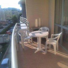 Апартаменты Central Plaza Apartment Солнечный берег балкон