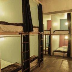 Capsule Hostel Mexico City Кровать в общем номере фото 11