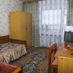 Гостиница Dnipropetrovsk Днепр комната для гостей фото 6