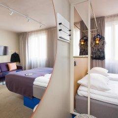 Отель Scandic Karl Johan 3* Улучшенный номер с различными типами кроватей фото 5