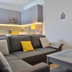 Отель Bajkowy Gdańsk Улучшенные апартаменты с различными типами кроватей фото 16