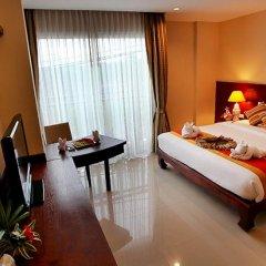 Malin Patong Hotel 3* Улучшенный номер двуспальная кровать фото 7