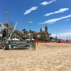 Hotel Sitges пляж
