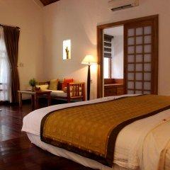 Отель Pilgrimage Village Hue 4* Улучшенный номер с различными типами кроватей фото 3