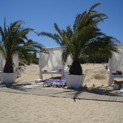 TM Deluxe Hotel пляж