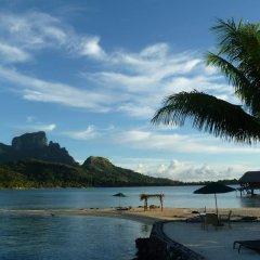 Отель Sofitel Bora Bora Private Island пляж фото 4