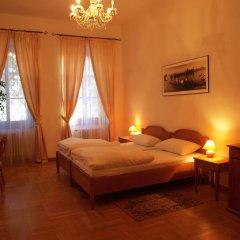 Отель U Cerneho Medveda- At The Black Bear Апартаменты с различными типами кроватей фото 8