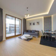 Отель Dom & House - Apartamenty Nadmorski Dwór комната для гостей
