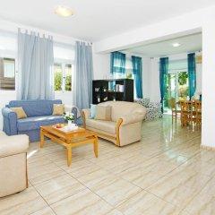 Отель Villa Jenna Кипр, Протарас - отзывы, цены и фото номеров - забронировать отель Villa Jenna онлайн комната для гостей фото 3