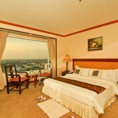 Champasak Grand Hotel 4* Улучшенный номер с различными типами кроватей фото 6