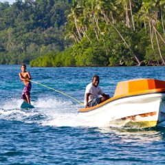 Oravae Island Cottages in Kukundu, Solomon Islands from 297$, photos, reviews - zenhotels.com sports facility