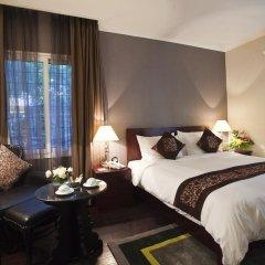 Medallion Hanoi Hotel 4* Стандартный семейный номер разные типы кроватей фото 5
