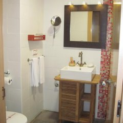 Отель Hostal Gartxenia Стандартный номер с различными типами кроватей фото 5