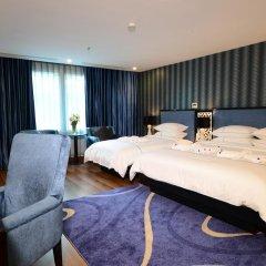 Hanoi Emerald Waters Hotel & Spa 4* Стандартный семейный номер с двуспальной кроватью фото 5