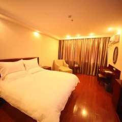 GreenTree Inn Jiangxi Jiujiang Shili Avenue Business Hotel 2* Стандартный номер с различными типами кроватей фото 4
