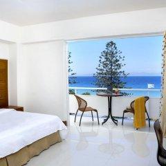 Отель Sunshine Rhodes 4* Стандартный семейный номер с различными типами кроватей фото 7