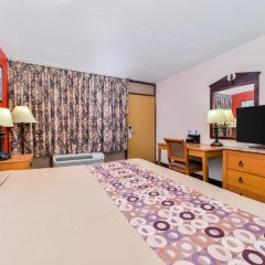 Отель Americas Best Value Inn - North Nashville/Goodlettsville 2* Стандартный номер с различными типами кроватей фото 5
