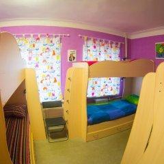 Хостел Гуд Лак Кровать в общем номере фото 6