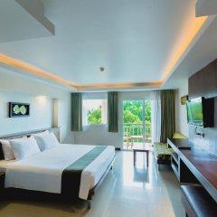 Отель Thanthip Beach Resort 3* Номер Делюкс с двуспальной кроватью фото 2