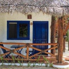 Отель Las Nubes de Holbox 3* Бунгало с различными типами кроватей фото 4