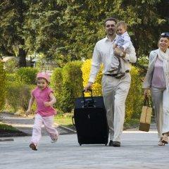 Отель Spa Resort Sanssouci Карловы Вары приотельная территория