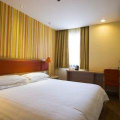 Отель Home Inn Guangzhou Xiaoxiguan Китай, Гуанчжоу - отзывы, цены и фото номеров - забронировать отель Home Inn Guangzhou Xiaoxiguan онлайн комната для гостей фото 4