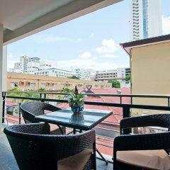 Отель Citismart Residence Таиланд, Паттайя - отзывы, цены и фото номеров - забронировать отель Citismart Residence онлайн балкон