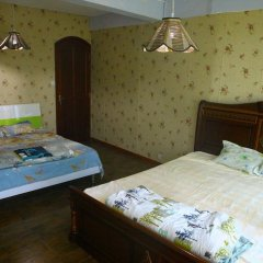 Отель Le Bamboo 3* Стандартный семейный номер с двуспальной кроватью фото 3