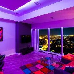 Отель 40th+ Floor Luxury Apartments in Sky Tower Польша, Вроцлав - отзывы, цены и фото номеров - забронировать отель 40th+ Floor Luxury Apartments in Sky Tower онлайн фитнесс-зал