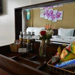 Hanoi Bella Rosa Suite Hotel 3* Стандартный номер с различными типами кроватей фото 7