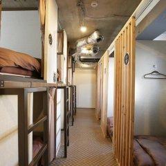 SAMURAIS HOSTEL Ikebukuro Кровать в общем номере с двухъярусной кроватью фото 7