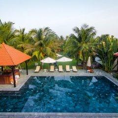 Отель Riverside Bamboo Resort Хойан бассейн фото 3