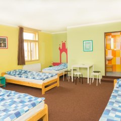 Hostel Downtown Стандартный семейный номер с двуспальной кроватью фото 7