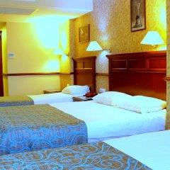 Topkapi Inter Istanbul Hotel 4* Стандартный семейный номер с двуспальной кроватью фото 25