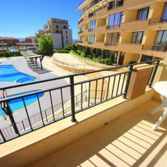 Апартаменты Menada Luxor Apartments балкон