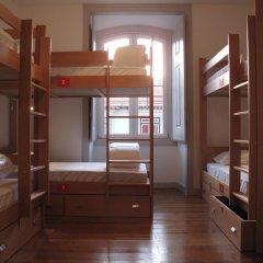 Inn Possible Lisbon Hostel Кровать в общем номере с двухъярусной кроватью фото 2