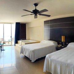 Отель Seadust Cancun Family Resort 5* Стандартный номер с различными типами кроватей фото 4