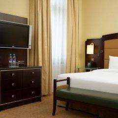 Гостиница Hilton Москва Ленинградская 5* Номер Делюкс с различными типами кроватей фото 10