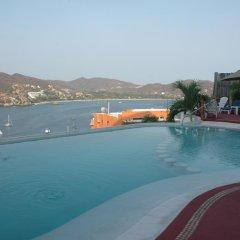 Отель Villas El Morro Сиуатанехо бассейн