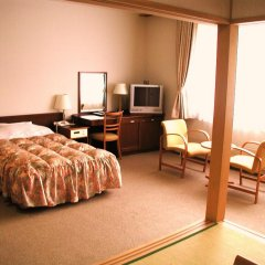 Отель Japanese Auberge Plaza Ryokufu Natural Hot Spring комната для гостей фото 2