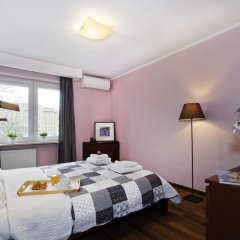 Апартаменты ASKI New Powisle Apartment комната для гостей фото 4