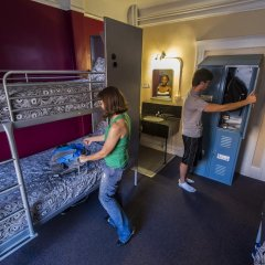 Отель USA Hostels San Francisco Кровать в общем номере с двухъярусной кроватью фото 12
