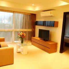 Отель I Am Residence 3* Улучшенные апартаменты с двуспальной кроватью фото 5