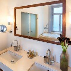 Отель ALDEN Suite Hotel Splügenschloss Zurich Швейцария, Цюрих - 9 отзывов об отеле, цены и фото номеров - забронировать отель ALDEN Suite Hotel Splügenschloss Zurich онлайн ванная фото 2