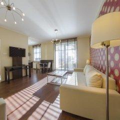 Апартаменты Dom And House Apartments Parkur Sopot Сопот комната для гостей