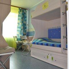 Хостел 8 Этаж Кровать в общем номере двухъярусные кровати фото 8