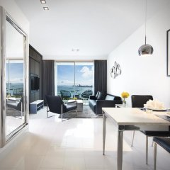 Отель Amari Residences Pattaya 4* Улучшенный номер с различными типами кроватей фото 3