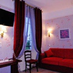 Отель Hôtel Les Chansonniers Стандартный номер с различными типами кроватей фото 2