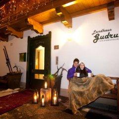 Отель Landhaus Gudrun питание